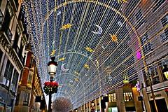 Feliz Navidad-Happy christmas (portalealba) Tags: málaga andalucía españa spain portalealba pentax pentaxk50 noche nocturna navidad magiccity