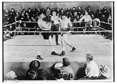 Dempsey [in ring] (LOC) (The Library of Congress) Tags: libraryofcongress dc:identifier=httphdllocgovlocpnpggbain32442 jackdempsey dempsey boxing boxer
