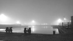 Les docks de Calais dans le brouillard (pierre.pruvot2) Tags: brume calais docks fog france gx80 harbour night nuit pasdecalais port quais
