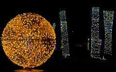 The Ultimate in Lighted Globe (J.R. Rondeau) Tags: rondeau windsor ontario christmas xmas christmaslights christmasdecorations bright lights brightlights colours colors canoneos tamron2875 photoshopelements10