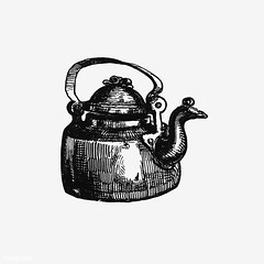 Vintage kettle illustration (Free Public Domain Illustrations by rawpixel) Tags: british antique art beverage black blackandwhite brass cc0 coffee copper creativecommons0 decoration design designresource domestic drawing drink engraving etching europe european handdrawn handle home hot house icon illustration ink jug kitchen metal name nostalgic object oldfashioned ornament pen pot psd publicdomain retro rustic sketch style symbol tattoo tea teapot traditional utensil vintage