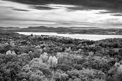 section of the Hudson river (Alberto Vanoli) Tags: mountainshills autumn landscape season nature sunsetsunrise forrest creekriver bw photo plantstrees foliage