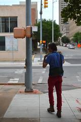 Walking round the corner (radargeek) Tags: theunderground okc oklahomacity downtown 2018 august kidcam shotbymyson family me photowalk meetup bedfordscamera