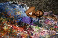 Tomia Dress in coral reef (`/1nc3nt) Tags: scuba ocean save lessplastic indonesia model portrait nikon z6 happyplanet asiafavorites