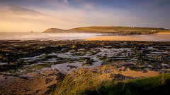 Cornish Sunset (David Lea Kenney) Tags: beach beachscape landscape seascape sea coast coastal explore travel cornwall uk england waves wave sand earth