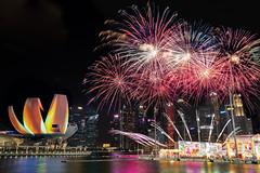 River HongBao Fireworks (.John Wong) Tags: singapore river hongbao 2019 fireworks mbss fujifilm
