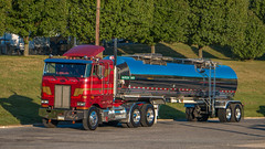 Peterbilt 362 (NoVa Truck & Transport Photos) Tags: peterbilt 352 landis sons trucking lititz pa tanker classic truck big rig 18 wheeler coe 2017 large car mag southern ta lexington va