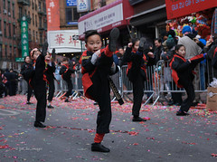 Chinese New Year 2019 NYC (tai_lee2) Tags: parade festival celebration chinese lunar year pig new york city street road barrier people person performer tae kwon do streamers decorations fireworks toys sign flag