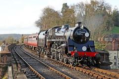 75069 BR Standard 4MT 4-6-0 (1955) (Roger Wasley) Tags: 75069 br standard 4 bewdley svr severn valley railway steam train locomotive heritage preserved preservation station worcestershire
