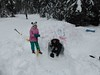 Family Day 2019-5 (Hope Mountain Centre) Tags: hopemountaincentre familiesinnature families bcfamilyday snowshoe snowcave snow snowfun manningpark outdoorlearning outdooreducation