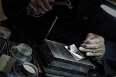 ぞうがん  象嵌 (小川 Ogawasan) Tags: japan japon kyoto craftman traditionalhandcraft art 象嵌ぞうがん 象嵌 ぞうがん
