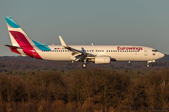 D-ABKM - Boeing 737-86J(WL) - Eurowings (MikeSierraPhotography) Tags: 737 air airlines airport boeing cgn cgneddk cologne country deutschland eurowings flughafen germany köln manufacturer plane spotting town dabkm