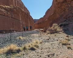 Corona Arch Trail 02-24-2018 (Jerry's Wild Life) Tags: canyonlands canyonlandsnationalpark coronaarch coronaarchtrail islandinthesky moab potashroad potashroadcanyonlands shafer shafertrail trail utah
