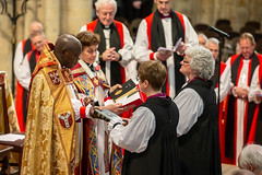 The consecration of the Bishops of Jarrow and Penrith