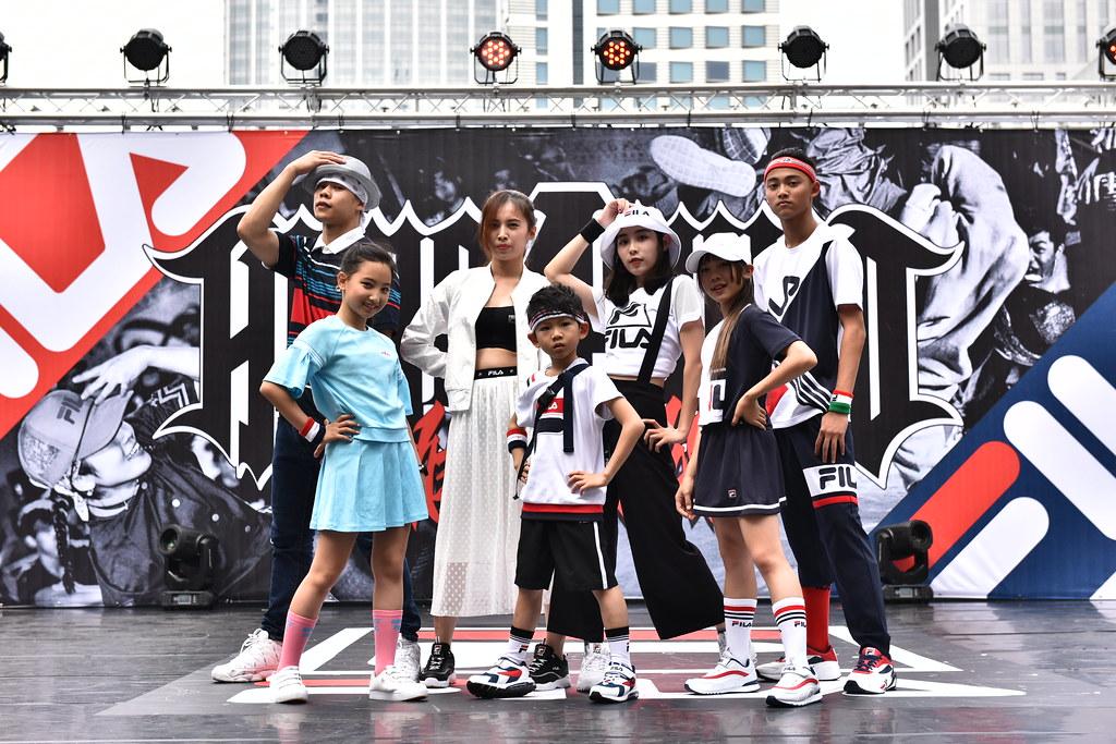 FILA特別將街舞融入Fashion Show展演 展現FILA最具設計感服飾
