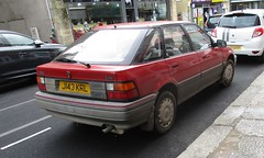 1991 Rover 214Si (occama) Tags: j143krl 1991 rover 214 si old british car cornwall uk cornish reg bangernomics
