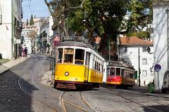 Remodelado hoch zwei (trainspotter64) Tags: strasenbahn streetcar tram tramway tranvia tramvaj tramwaje electricó portugal lissabon lisboa carris remodelado
