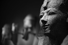 Hatshepsut _ bw (Joe Josephs: 3,166,284 views - thank you) Tags: met manhattan metmuseum metropolitanmuseumofart nyc newyorkcity travel travelphotography art arthistory artmuseums culture history metmuseumphotography museumphotography egypt ancientegypt pharaohhatshepsut bw monochrome blackandwhite