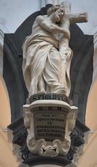 St.Paulus 10 (Phil*ippe) Tags: saint paulus church antwerp blackwhite black white tomb statue angel sword philippus paul