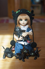 How To Train Your Dragon 03 (Mista-Oro) Tags: toy howtotrainyourdragon dragon dreamworks toothless fairyland ltf littlefee chiwoo bjd doll