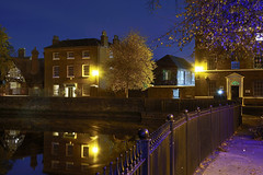 The Minister Pool, Lichfield 20/10/2018 (Gary S. Crutchley) Tags: lichfield cathedral close minster pool uk great britain england united kingdom nikon d800 history heritage local night shot nightshot nightphoto nightphotograph image nightimage nightscape time after dark long exposure evening raw