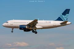 Aigle Azur A319-111 F-HBAL op. by TAP (José M. Deza) Tags: 20190408 a319111 aigleazur airbus bcn elprat fhbal lebl planespotting spotter tap aircraft