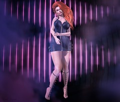 Illusion💔 (ღ Sɑrɑɑh Drɑgoone ღ) Tags: gorgeous cute pink ginger lic tz poses lelutka maitreya secondlife sl pic photo portrait gameonline bentoav mesh sexy love outfit shop blogger wix woman girl pose blog fashion cerberus olive hair herad body dress new event