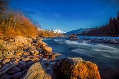 Giffre river (focale 74) Tags: canon1dxmarkii canonef1635mmf28l france giffre hautesavoie hiver landscape longexposure paysage poselongue river riviere water winter