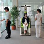 病院内移動支援システムの写真