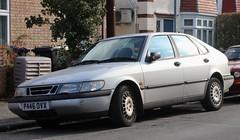 P446 OVX (Nivek.Old.Gold) Tags: 1997 saab 900 s auto 5door 1985cc