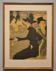 Divan Japonais by Henri de Toulouse-Lautrec, Impressionism in the Age of Industry, Art Gallery of Ontario, Toronto, ON (Snuffy) Tags: divanjaponais henridetoulouselautrec impressionismintheageofindustry artgalleryofontario ago toronto ontario canada