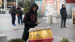The Nam Pai drummer. (kuntheaprum) Tags: chinatownboston chinesenewyearcelebration yearofthepig sony a7riii tamron 2470mm f28 festival parade dragon firework
