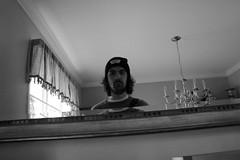 Self (Bob DiBono) Tags: self portrait mirror window room face abstract canon 550d 5 d rebel t2i t 2 i selfie pic