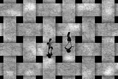 networking (Wackelaugen) Tags: network people art shadow walking two canon eos photo photography stephan wackelaugen black white bw blackwhite blackandwhite mono noiretblanc schwarz weis schwarzweis