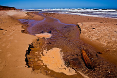 McNeil's Brook, Beach, Prince Edward Island National Park, Prince Edward Island, Canada (klauslang99) Tags: klauslang nature naturalworld northamerica canada prince edward island beach sand waves ocean atlantic mcneils brook coast national park