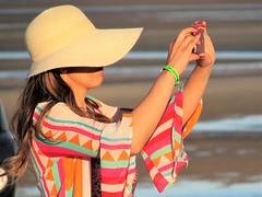 Big sunhat (thomasgorman1) Tags: hat photographer woman sunhat beach resort travel tourism mx mexico colors fashion