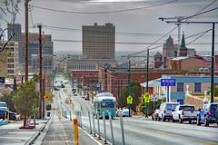 EL PASO--1512 at Stanton/Cliff OB (milantram) Tags: electricrailtransport railsystemselpaso elpaso sunmetro pccs streetcars trolleys trams elpasostreetcar
