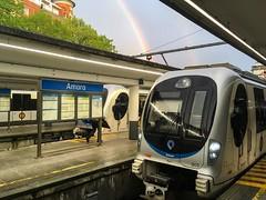 Euskotren 🌈 (ekainmunduate) Tags: arcoiris rainbow gipuzkoa sansebastián donostia viaestrecha narrowguage railway train topo euskotren
