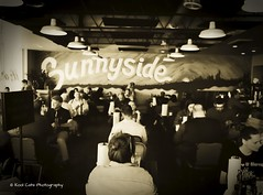 Sunnyside Diner (Kool Cats Photography over 12 Million Views) Tags: diner restaurant sepia architecture artistic abstract food entertainment ricohgrii highcontrast