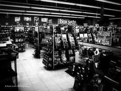 Vintage Shoppe (Kool Cats Photography over 11 Million Views) Tags: cd music movies vintage shoppe shop entertainment blackandwhite bw highcontrast oklahoma