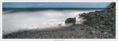 La Fajana, La Palma, 6x17 analog (Dierk Topp) Tags: kodakportra400 schneidersuperangulon5690mm analog atlantic canaryislands film islascanarias lapalma longtimeexposure panorama wasser water waves winecountrycamera