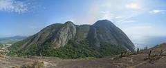 Joana e a Pedra do elefante (mcvmjr1971) Tags: green costão de itacoatiara praia niteroi brasil 2019 escalada trilha mmoraes nikon d800e lens sigma 2435 f20 art