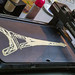 PancakeBot injects crêpe in the form of Eiffel Tower on integrated baking plate