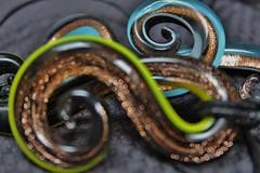 twisted Murano Glass (© mpg) Tags: mpg2019 macro macromondays picktwo murano glass muranoglass twisted bokeh closeup
