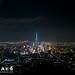 台北101空拍影像_夜景 限制飛行區域外拍攝 DJI inspire2+45mm長焦段鏡頭拍攝