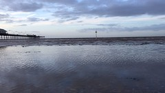 Sunset, Southport Beach (nickcoates74) Tags: southport timelapse beach coast shore pier sefton iphone 6s video sunset clouds irish sea evening gorillapod baytimelapsemount ebaytimelapsetimer ebaytimelapsemount ebay timelapsemount