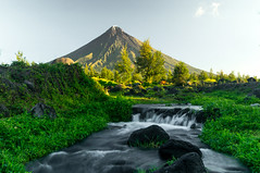 Sunrise on Mount Mayon
