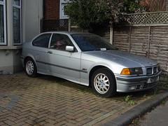 1996 BMW 316i Compact (Neil's classics) Tags: vehicle 1996 bmw 316i compact e36 abandoned