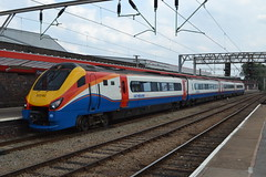 East Midlands Trains Meridian 222103 (Will Swain) Tags: crewe station 13th july 2018 cheshire north west south county train trains rail railway railways transport travel uk britain vehicle vehicles england english europe east midlands meridian 222103 class 222 103
