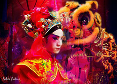 Chinese New Year (brillianthues) Tags: red chinese new year colorful collage photography photmanuplation photoshop